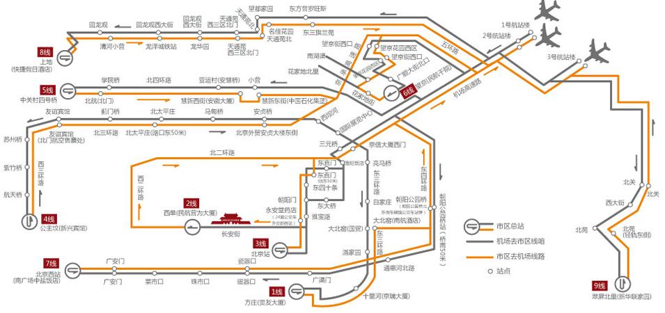 北京首都机场机场大巴发车时间