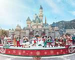 香港迪士尼– 飘雪点亮圣诞!